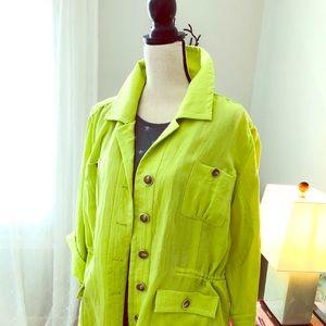 Jackets & Blazers - Linen like lightweight jacket
